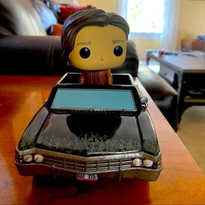Supernatural Baby rides with Dean